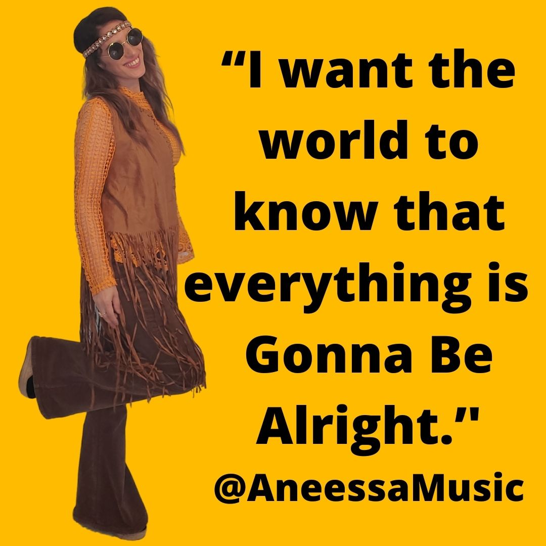 """""""I want the world to know that everything is 'Gonna Be Alright.'' @AneessaMusic (1)"""